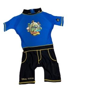 Swim suit with built in life jacket Toy story